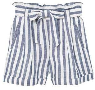 955585928b Linen-blend high-waist shorts - Women | conjunto niña | Pinterest ...