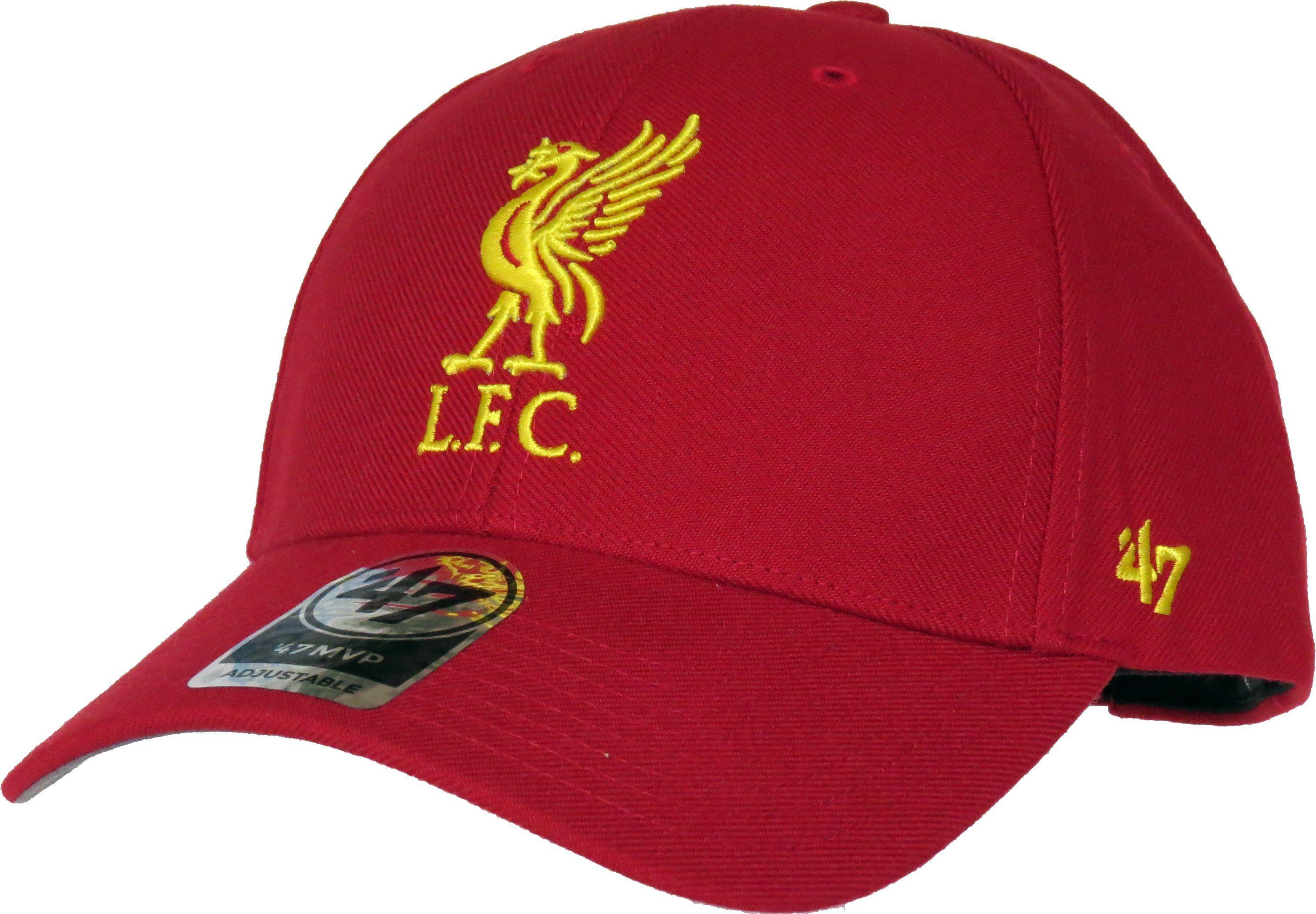50d88b3952d04 Liverpool FC 47 Brand MVP Adjustable Red Cap – lovemycap