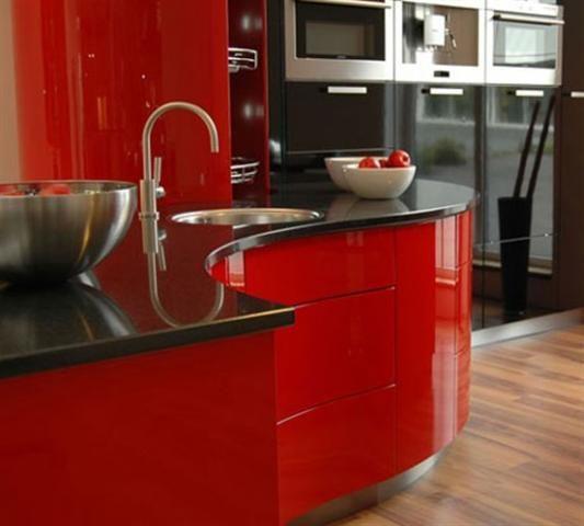Resultado de imagem para decoração casa Vermelho e preto