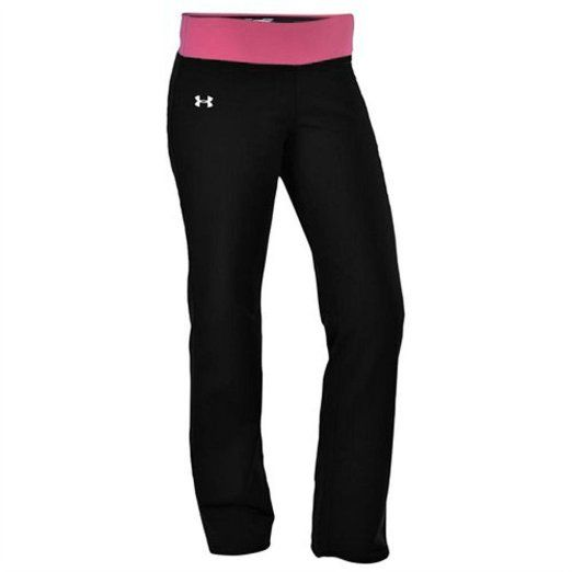 Under Armour Women's UA DFO Semi-Fitted Yoga Pant-Black ...