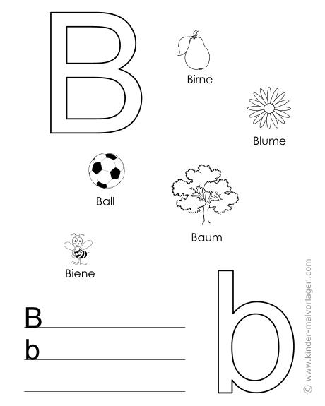 Www Kinder Malvorlagen Com Buchstaben In