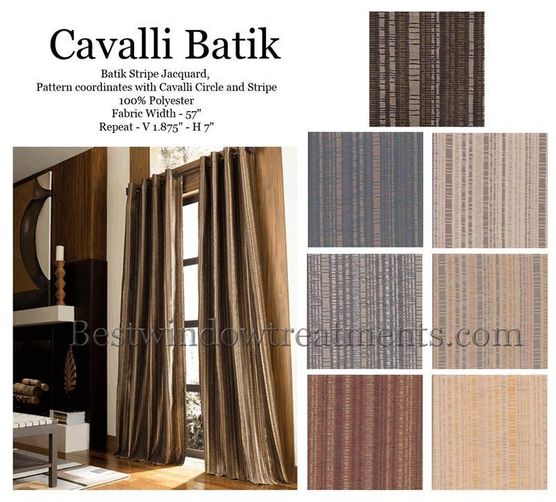 Awesome Cavalli Batik Curtain Drapery Panels | Www.bestwindowtreatments.com