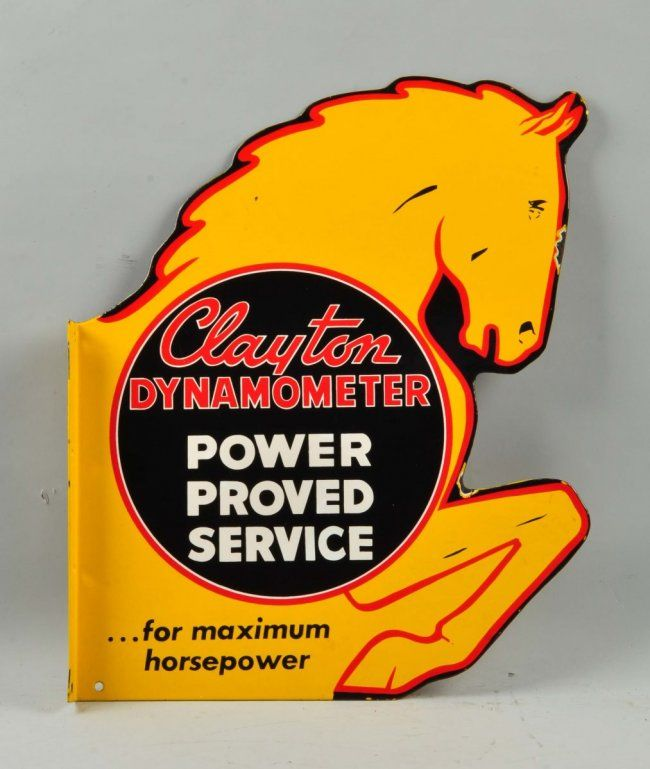 """Clayton Dynamometer """"Power Proved Service"""" Sign. : Lot 11"""