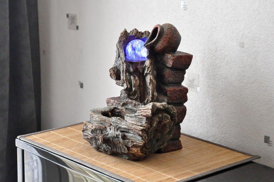 Bon Fontaine Du0027intérieur Zen Cascade Boule De Verre Taki Shiro Conception Etonnante