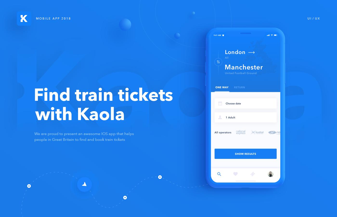 Kaola iOS App Train tickets booking on Behance | APP大数据