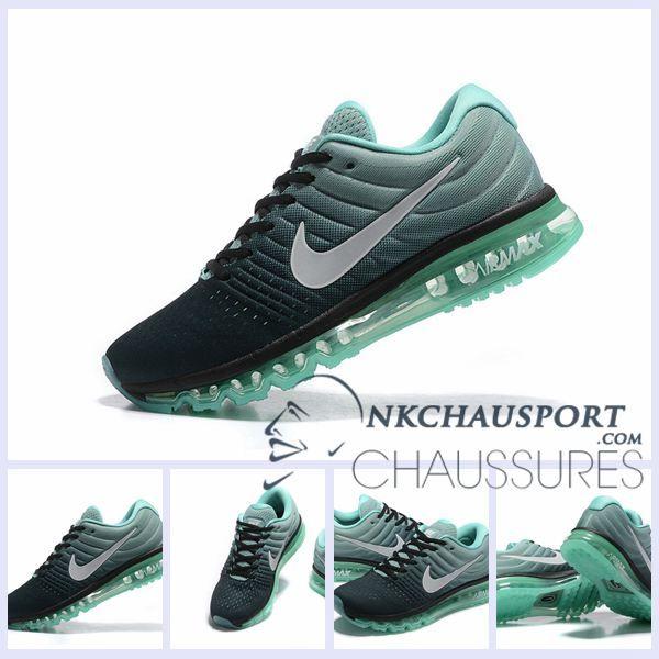 Nike Homme Max Running Air 2017Meilleur Noir Chaussures De thQrCsdx