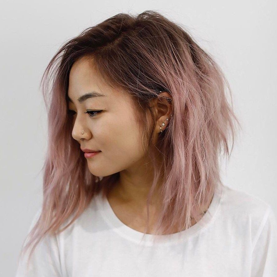 30 Modern Asian Hairstyles for Women and Girls   Messy lob, Lob and ...