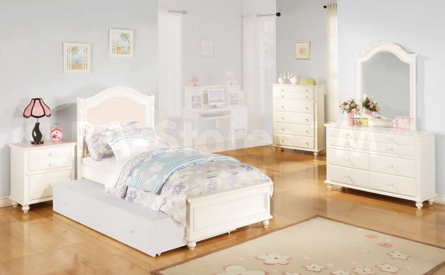 9+ Fancy White Wooden Childrens Bedroom Furniture Photos