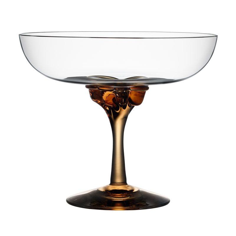 Sugar Dandy Champagne / Amber - Åsa Jungnelius - Kosta Boda - RoyalDesign.no