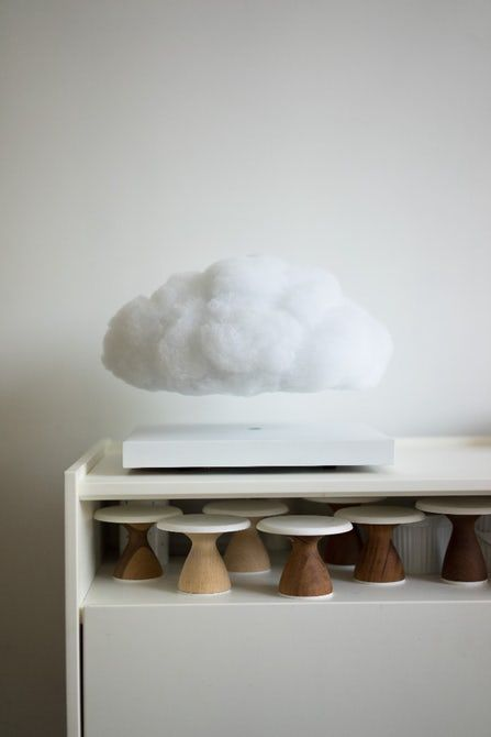 This Floating Cloud Lamp Is A Mini Thunderstorm For Your Coffee Table Cloud Lamp Clouds Design Floating