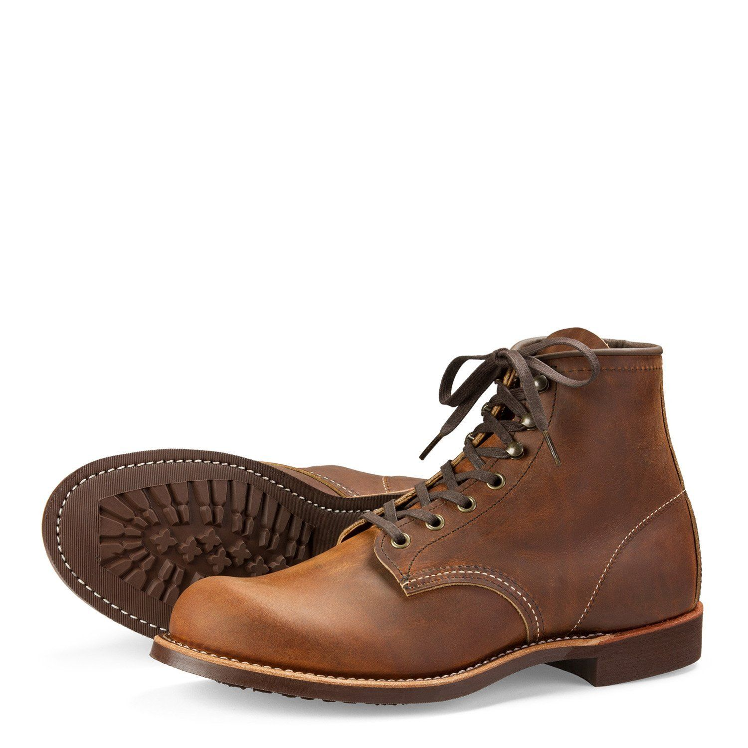 Red Wing Blacksmith 6 Inch Boots in Copper