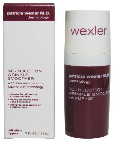 Bath Body Works Patricia Wexler Md No Injection Wrinkle Smoother With Skin Regenerating Mmpi Technology 5 F Face Cream Anti Aging Wrinkles Bath And Body Works