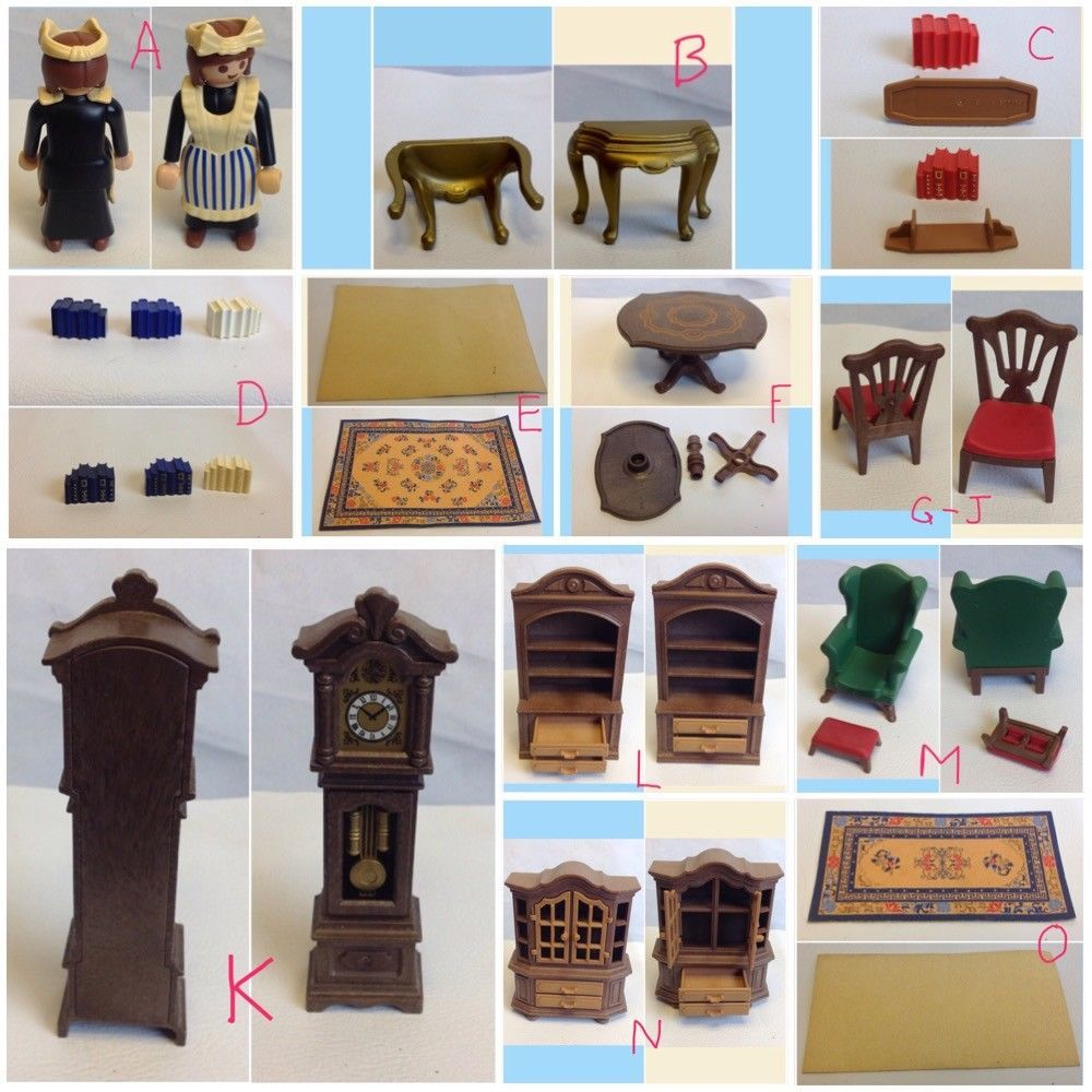 choose victorian furniture. PLAYMOBIL 5320 DINING RM Victorian Mansion Dollhouse 5300 Mini Furniture CHOOSE #PLAYMOBIL Choose M