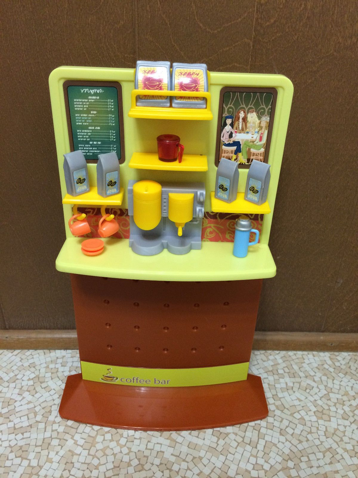 Details about Misc Barbie Furniture. Mattel Daily Dish