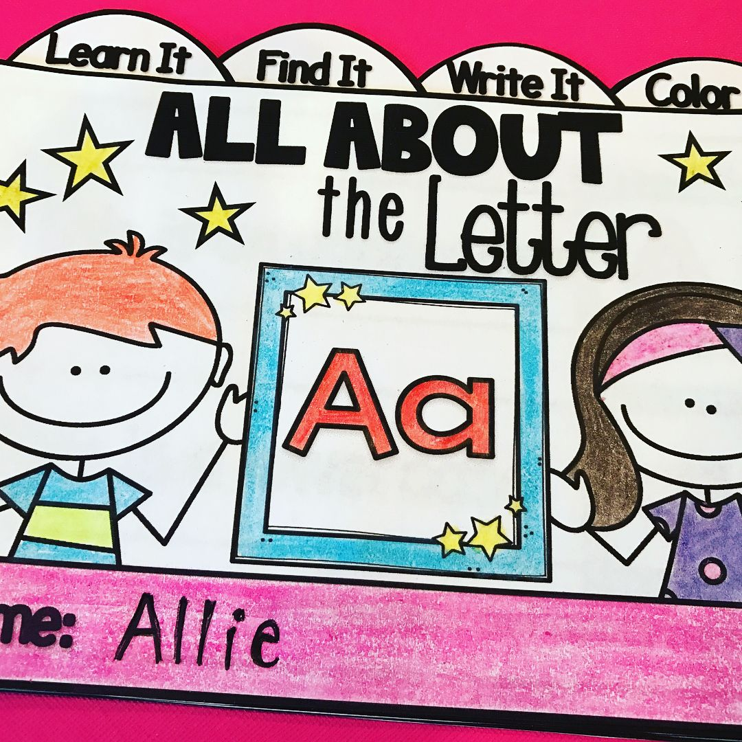 Interactive Letter Booklets To Teach Each Letter Of The