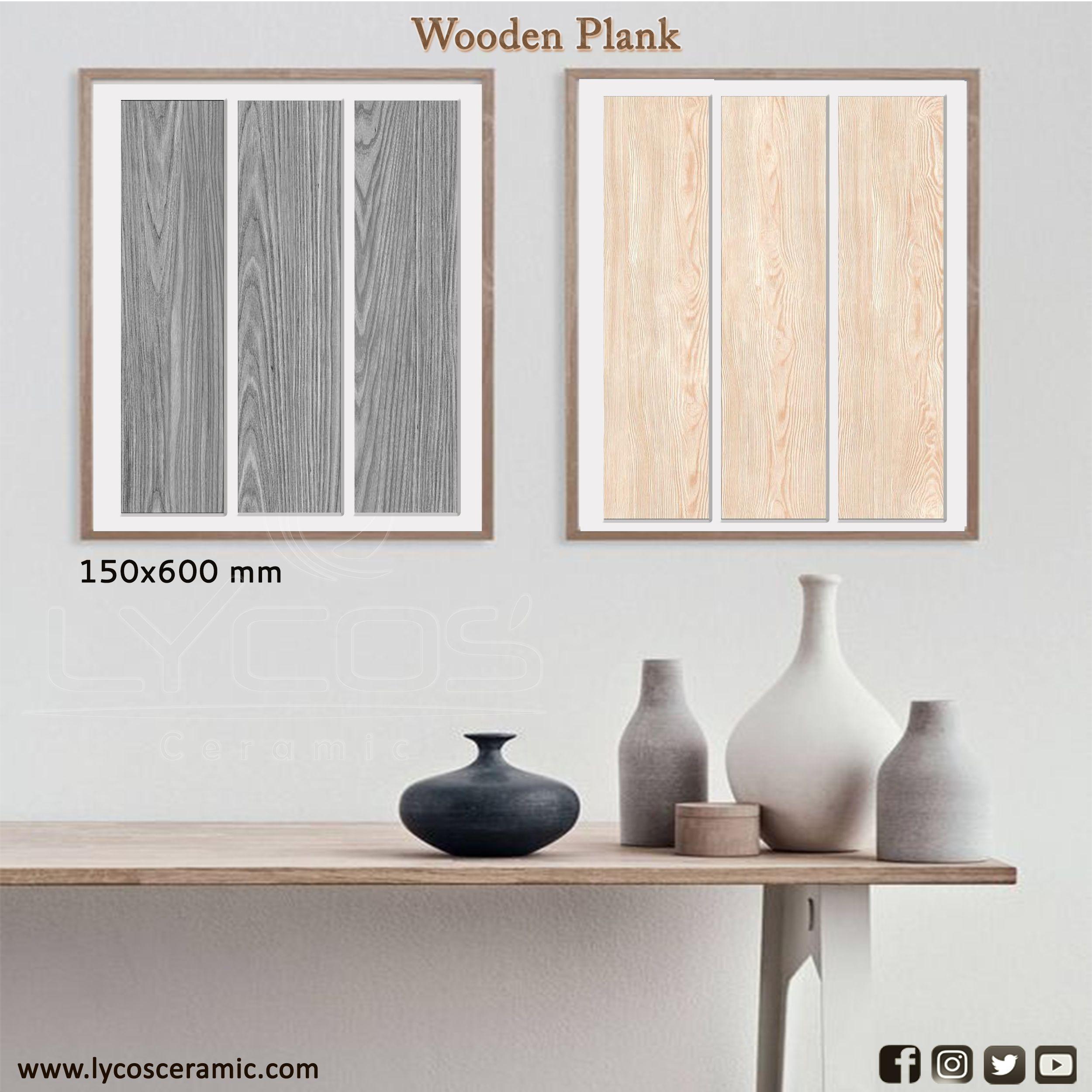 Porcelain Floor Tile 15x60 CM in 2020 Porcelain flooring