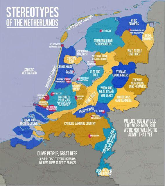 Niederlande Dumme Spruche Und Stereotypen Uber Die Hollander