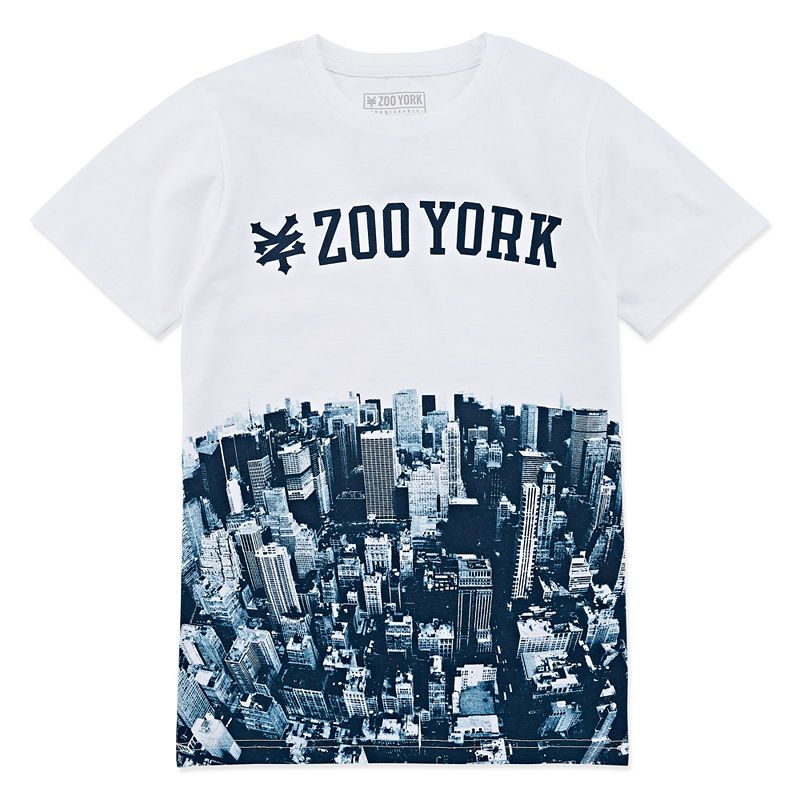Zoo York Boys Short Sleeve Graphic Tee T-Shirt
