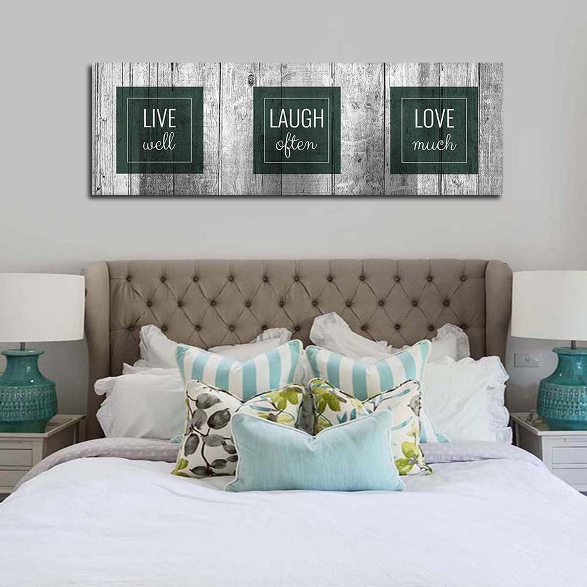 Words To Live By Multi Panel Canvas Wall Art Love Canvas Canvas Wall Art Wall Art Designs