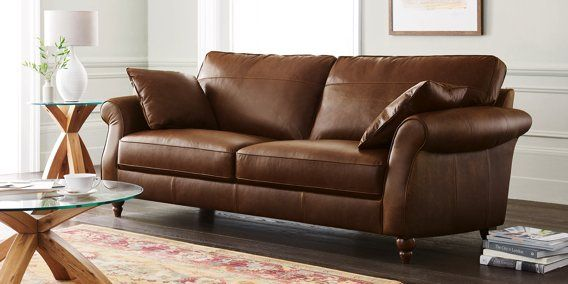 Ashford Leather Corner Chaise Left Hand Seats Bolivia Dark Tan Low Turned From The Next Uk Online