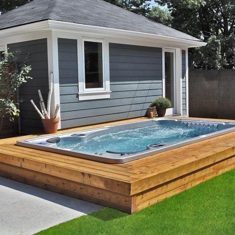Pin By Kleine Anna On Outdoor Oasis Endless Pool Backyard Swim Spa Luxury Pools Indoor