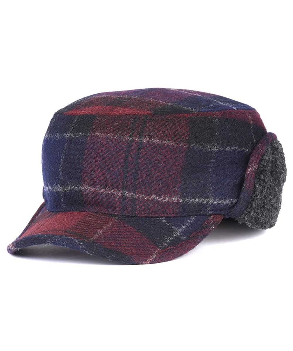 cbed88b2655 Men s Barbour Stanhope Wool Trapper Hat - Navy   Merl Tartan ...