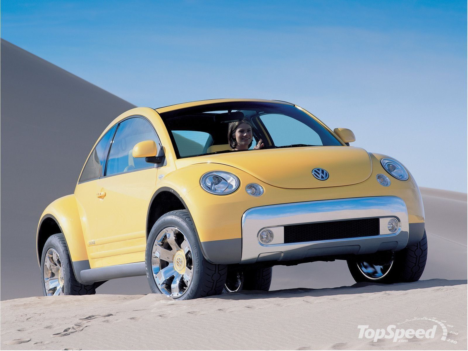 2014 volkswagen new beetle dune concept car model