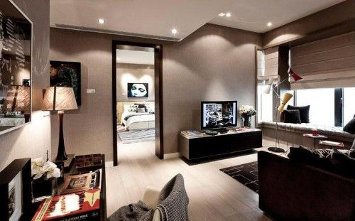 Aesthetic Modern Interior Duplex Apartment Design Apartment