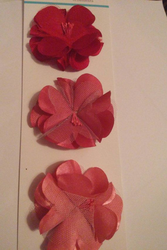 Martha Stewart Fabric Flowers Perfect for by PattiChicCreations