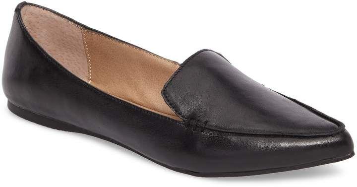 d6433fc31 Women's Steve Madden Feather Loafer Flat, Size 10 M - Beige ...