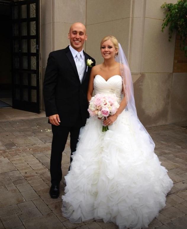 #allure #real #brides Allure Bridals Style: 8950