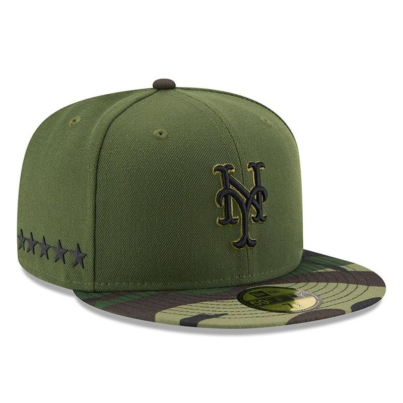 69a1b03b863 ... coupon code for new york mets new era 2017 memorial day 59fifty fitted  hat green 057fb