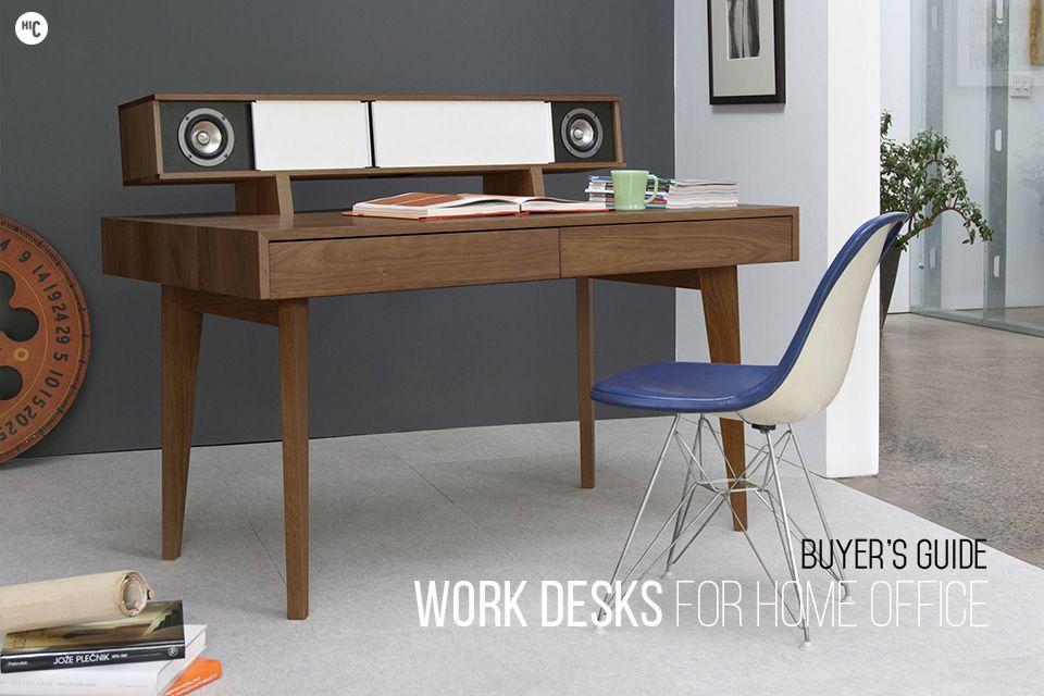 The 20 Best Modern Desks For The Home Office Hiconsumption Office Interior Design Computer Desk Design Modern Computer Desk