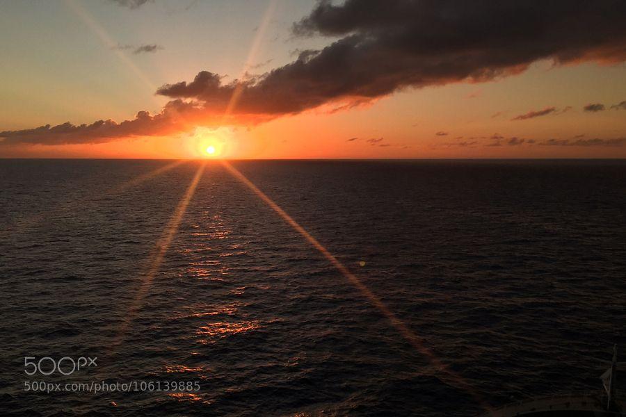 St. Maarten Sunset by JoeyD