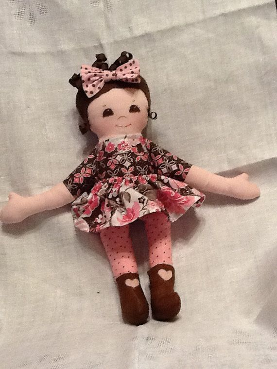 Easy Cloth Rag Doll PDF Pattern Primrose 16\
