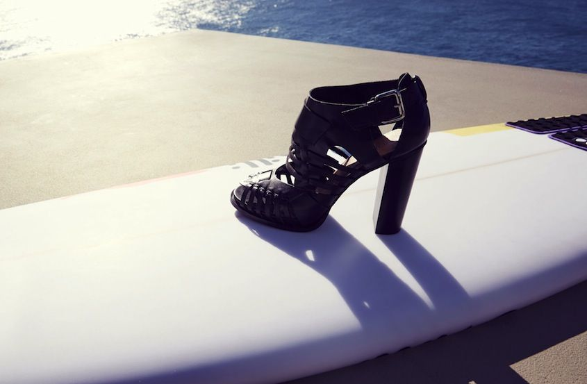 Sun, sand, and shoes