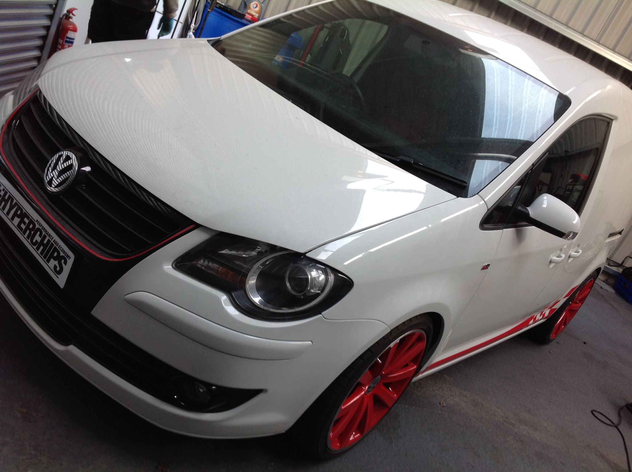 Vw caddy we remapped
