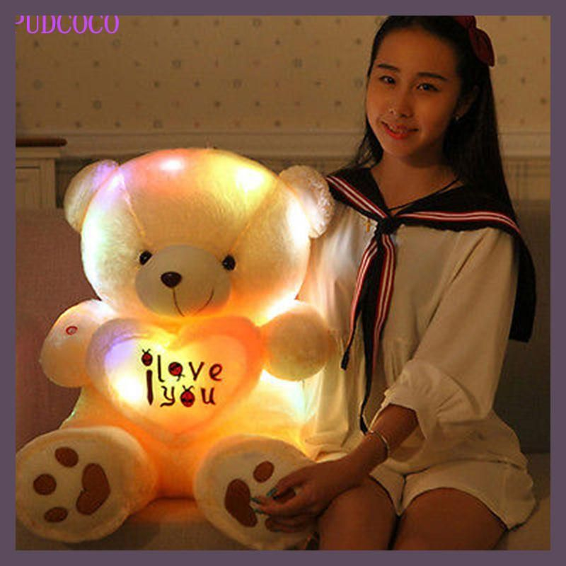 Kids Favorites!New Arrival 50cm Lovely Soft LED Colorful