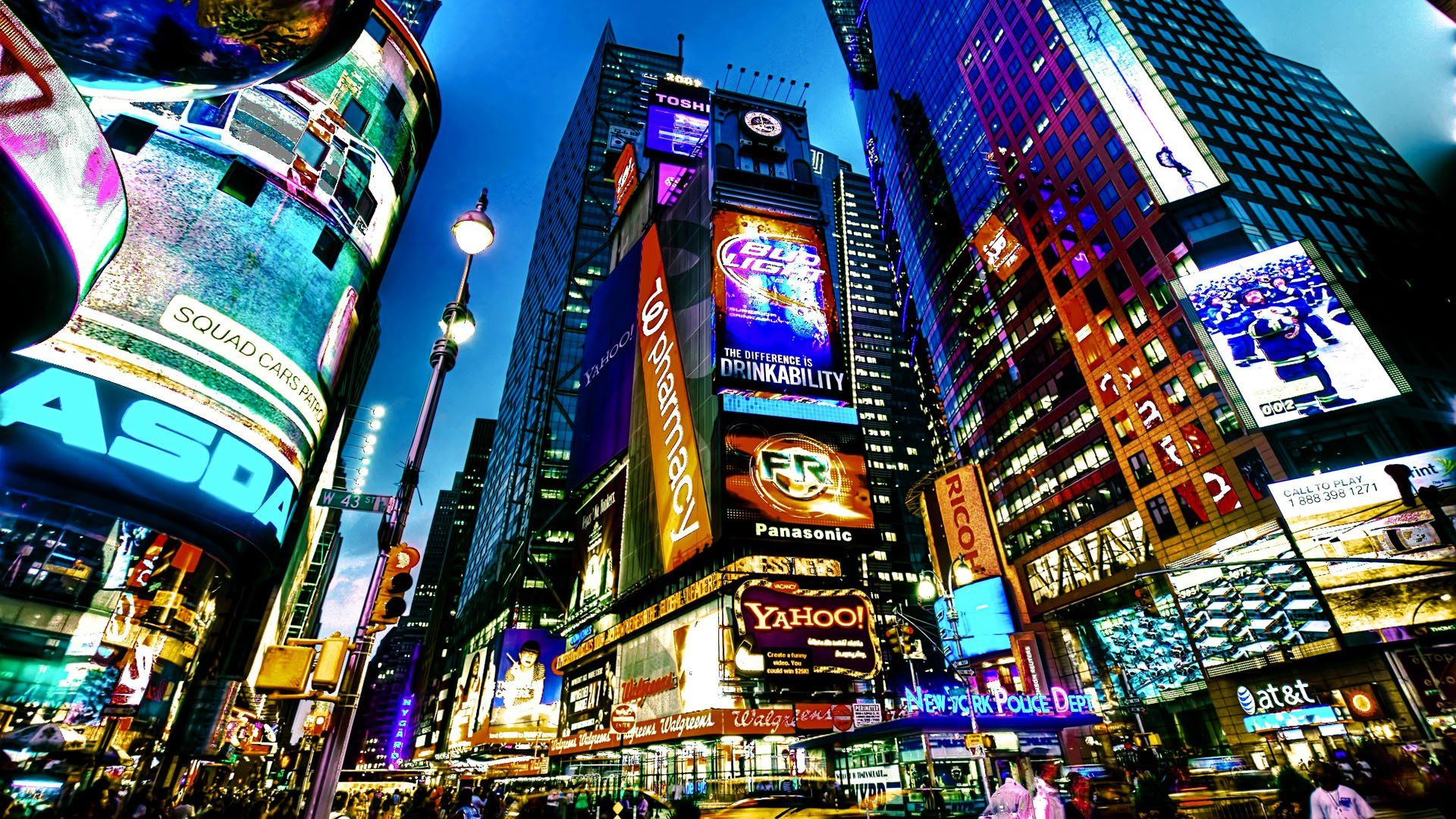 New York Times Square Wallpaper Times Square New York Nyc Times Square City Wallpaper