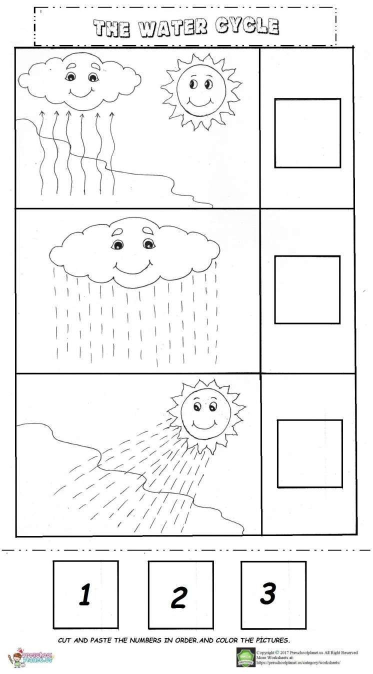 Forensics And Investigations Water Cycle Worksheet Kindergarten Water Cycle Worksheet Kinderg Water Cycle Worksheet Water Cycle Kindergarten Worksheets