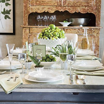 Relaxed Summer Table Setting By Eddie Ross Elegant Table