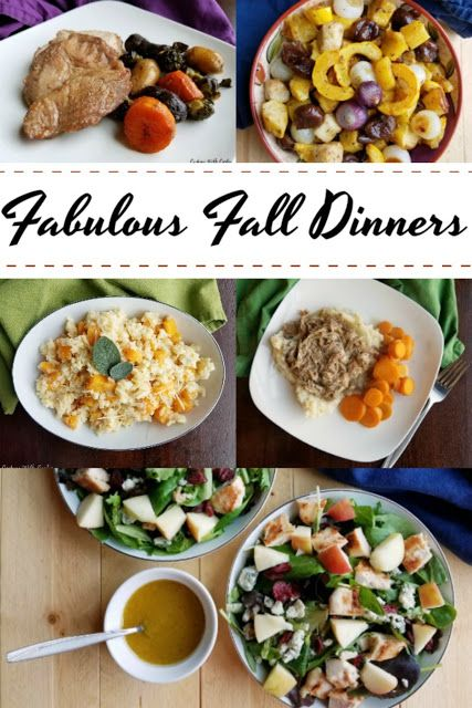 Fabulous Fall Dinners images
