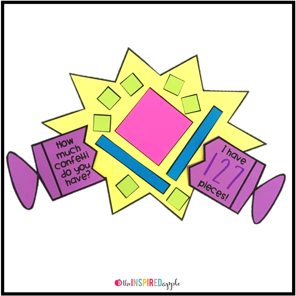 Math Crafts For Kindergarten And First Grade Students