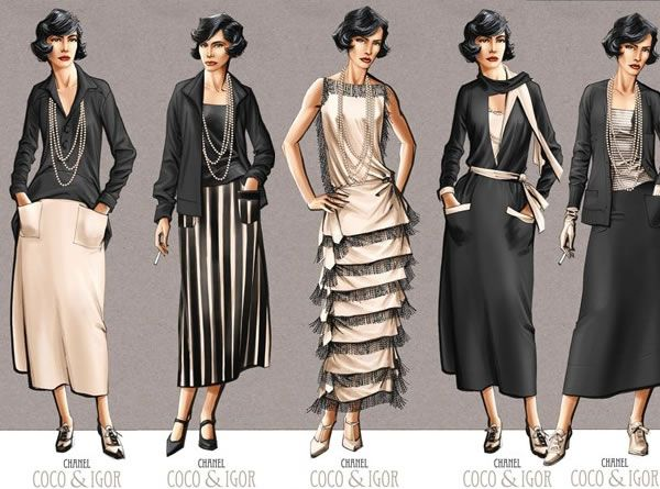 Image result for coco chanel dress style