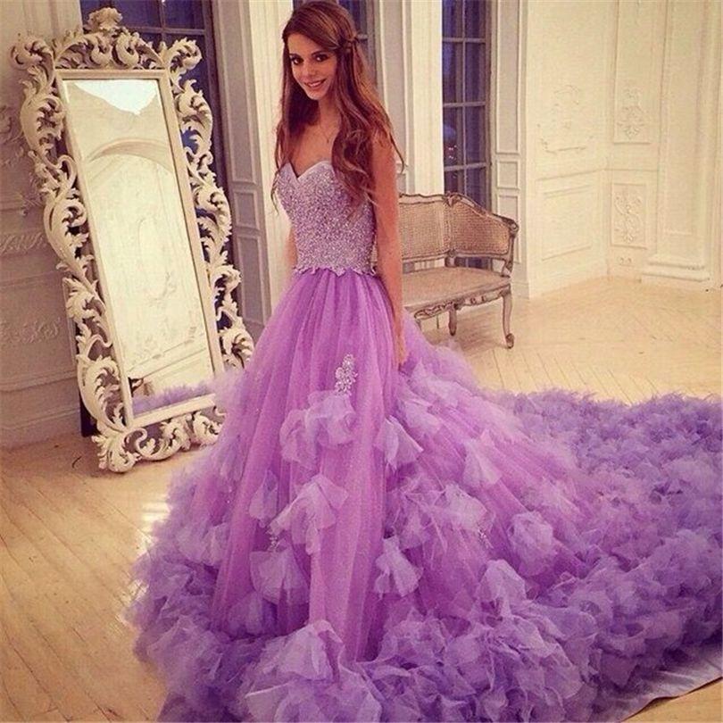Resultado de imagen de vestidos de novia violeta | NOVIAS Y FIESTA ...