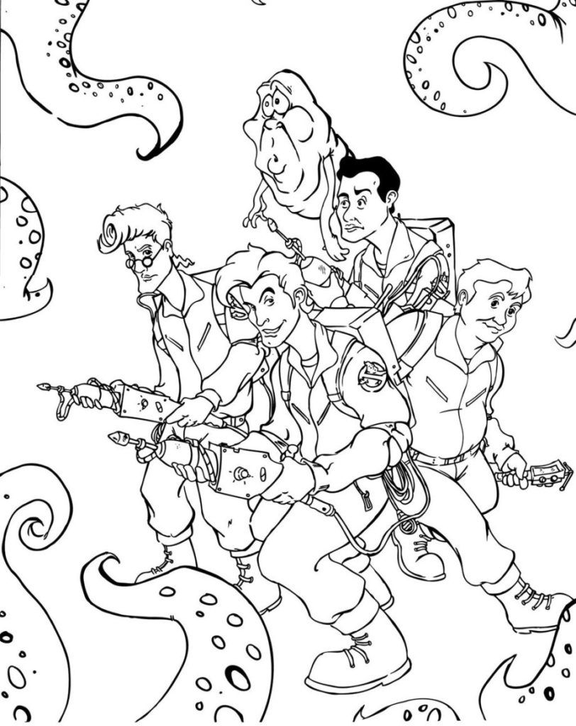 Ghostbusters 2016 Printable Coloring Pages Ghostbusters