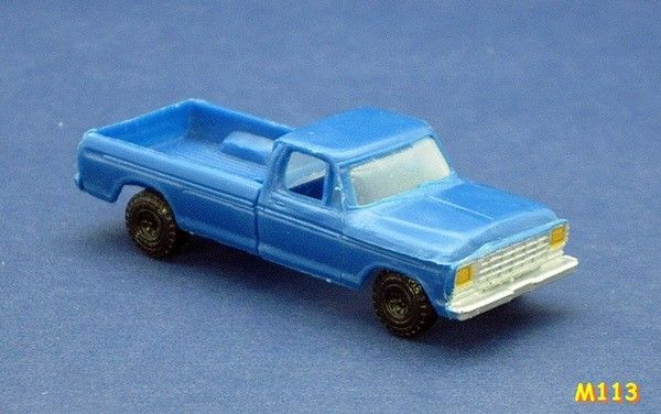 1970 S Ford 1 2 Ton Pick Up Truck Used Life Like M113 Toys Of The 70s Trucks Ford Toys