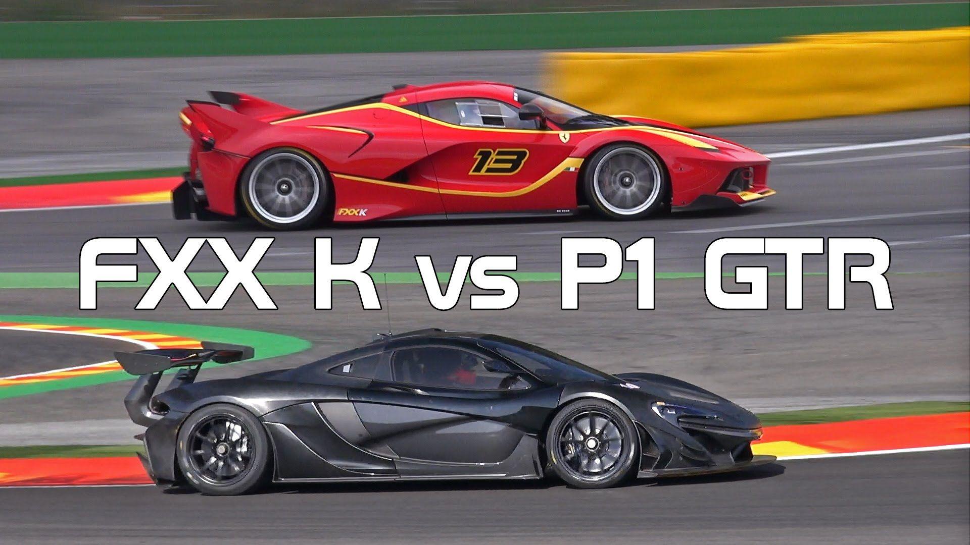 McLaren P GTR Vs Ferrari FXX K Sound Comparison Cars - Sports cars comparison