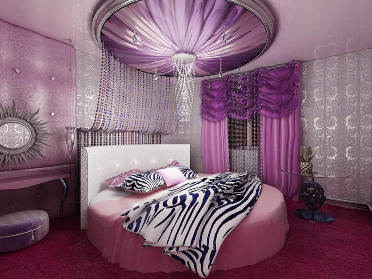 Rosalilanegro y blanco Recmaras Pinterest Purple bedrooms