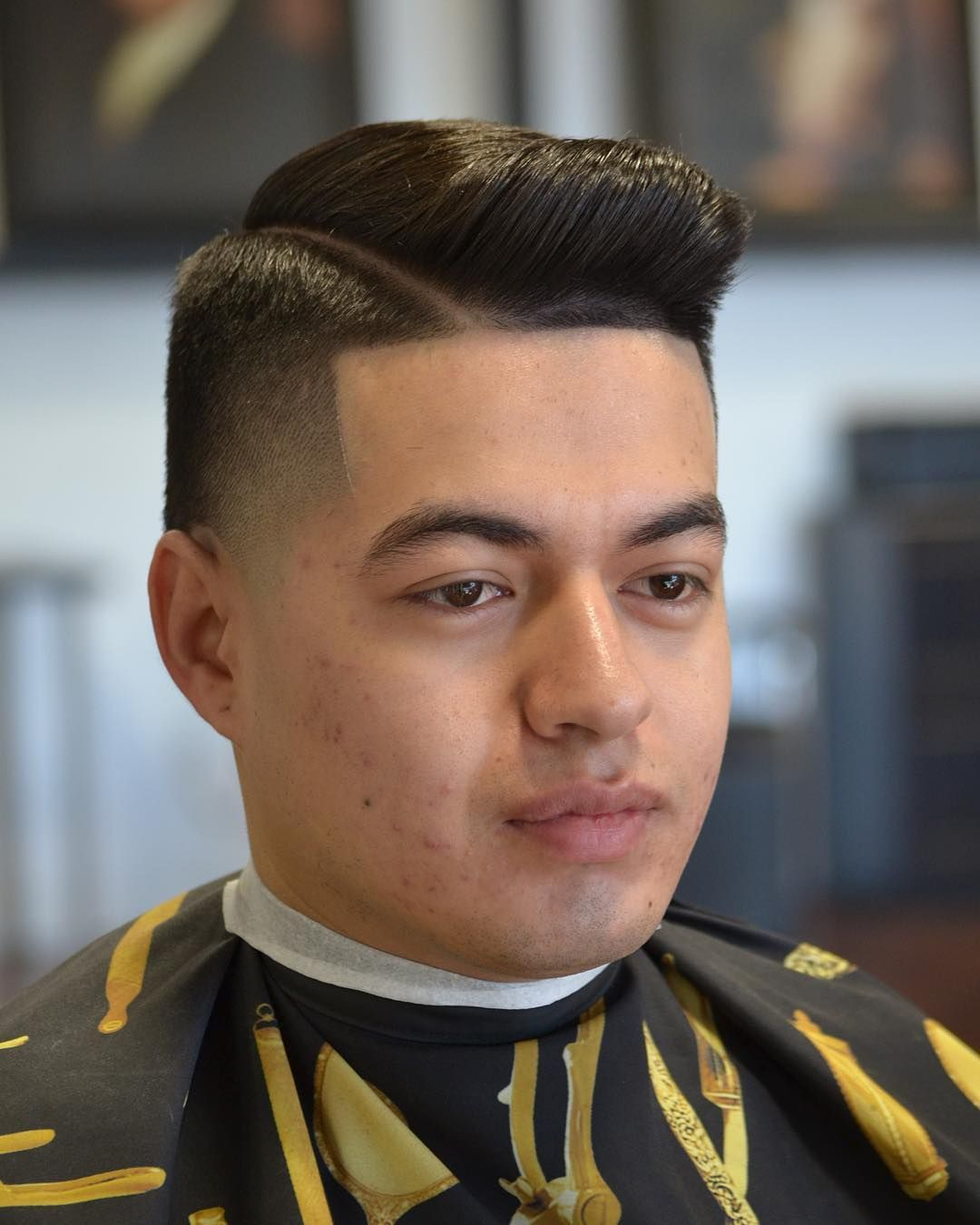 Mens comb over haircut  popular new hairstyles  haircuts for men